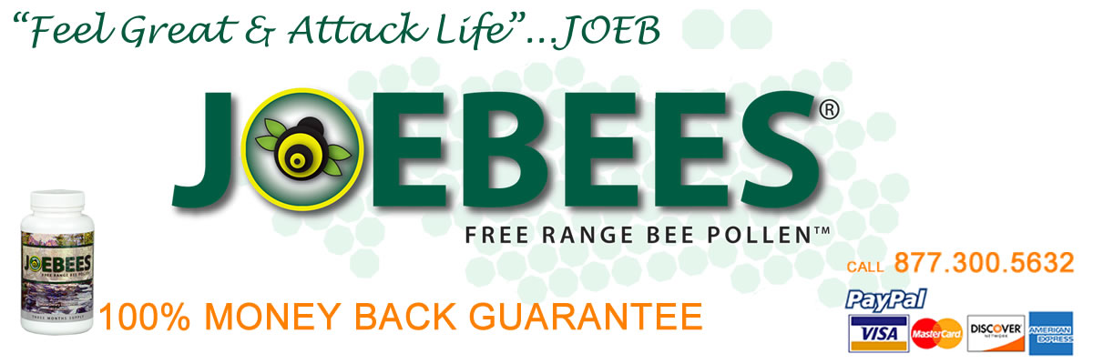 Joebees® Bee Pollen Feel Great & Attack Life
